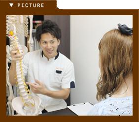 患者様とのコミュニケーション写真